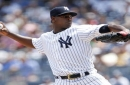 Severino sharp, steals a popup, too, as Yankees top Rays 4-1