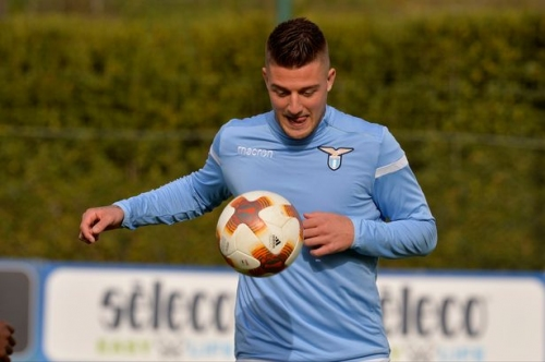 Manchester United 'in three-way battle to sign Sergej Milinkovic-Savic'