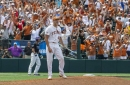 FOLLOW LIVE: Texas baseball faces Arkansas in College World Series opener