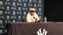 Aaron Boone reacts to Yankees' 3-1 loss on Old-Timers' Day