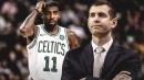 Kyrie Irving talks about the difference of playing for Brad Stevens
