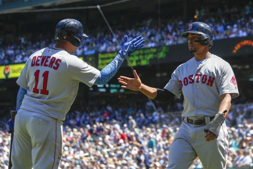 Red Sox 9, Mariners 3: The bats woke up