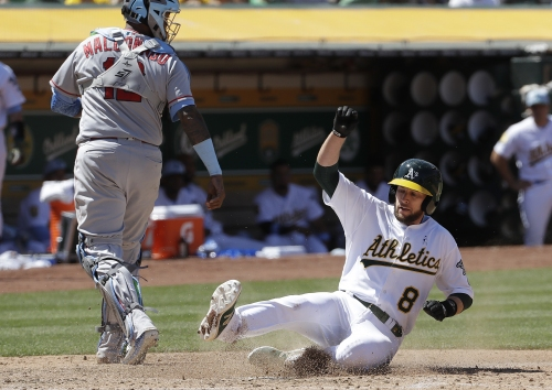 Angels bullpen falters again in loss to Oakland A's