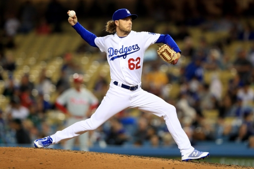 Erik Goeddel's scoreless streak is approaching a Dodgers record