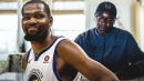Kevin Durant's father writes letter to him on Father's Day