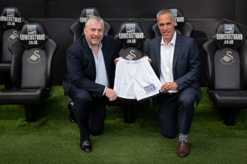 Swansea City reveal first new kit sponsor ahead of 2018-19 season