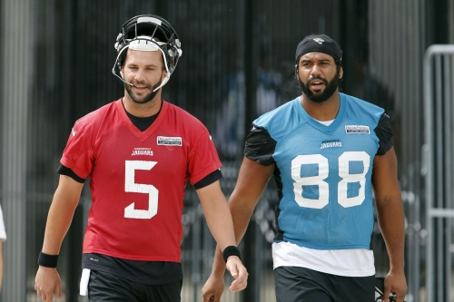 Bortles on Seferian-Jenkins: 'He is going to help us out'