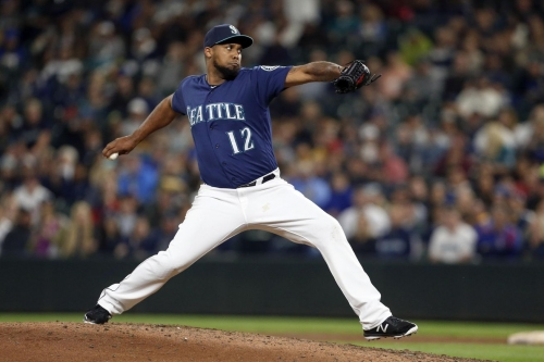 Mariners activate Juan Nicasio and Chris Herrmann, option Freitas and Whalen