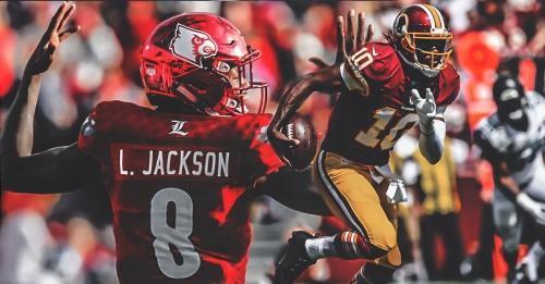 Ravens QB Robert Griffin III 'trying to help nurture' rookie Lamar Jackson
