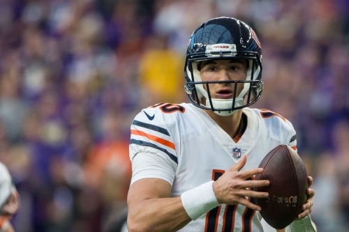 What is the biggest roster decision facing the Chicago Bears?