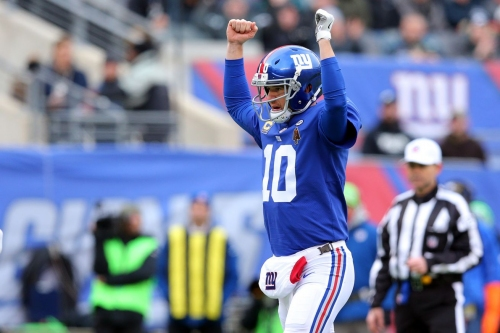 """6.5 wins for the Giants in 2018? Geoff Schwartz says """"Take the over"""""""