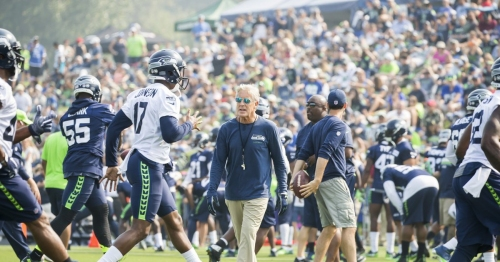 Seahawks announce training camp to begin July 26, and dates of 13 open practices