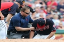 Cleveland Indians relieved as tests come back negative on Carlos Carrasco's injured right elbow