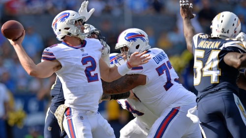 Bills QB Nathan Peterman using 5-INT game as motivation to improve