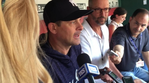 Yankees manager Aaron Boone talks about Brett Gardner's situation