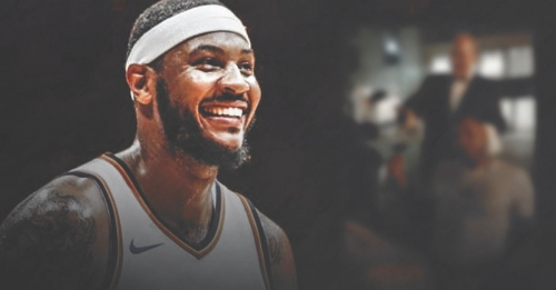 Thunder news: Carmelo Anthony posts photo with message for haters