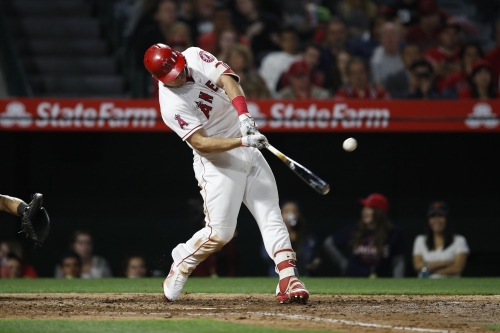 Alexander: Mike Trout could finish five games ahead of his team