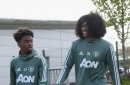 Tahith Chong and Angel Gomes handed Manchester United summer advice
