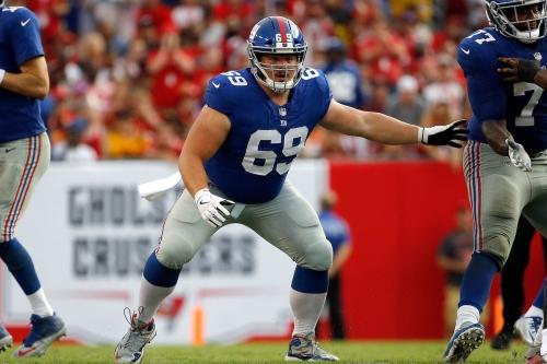 Brett Jones: Starting center or key reserve for Giants?
