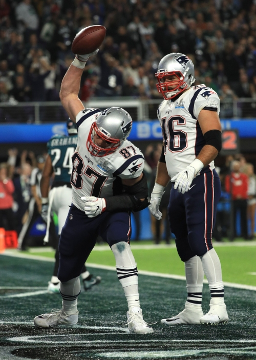 Lions discussed trade for Patriots' Rob Gronkowski, per report