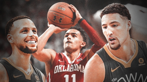 Trae Young picks himself in shooting contest over Stephen Curry, Klay Thompson