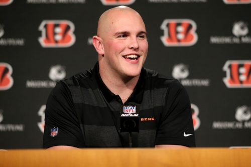 Bengals rookie Billy Price working daily at Paul Brown Stadium to prepare for training camp