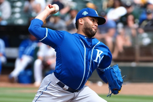 Kelvin Herrera's last Kansas City Royals appearance was blown save vs. Reds