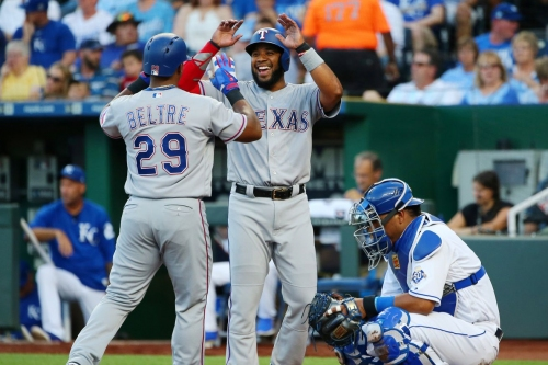 Tuesday Texas Rangers lineup