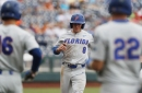 Texas eliminated after two College World Series games following 6-1 loss to Florida