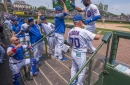Cubs, Dodgers play Game 2 of split doubleheader