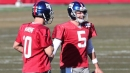 Giants QB Davis Webb makes it clear he wants to take Eli Manning's job