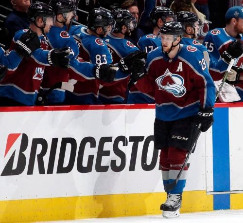 Nathan MacKinnon's bounce-back year has him feeling more at ease at NHL awards