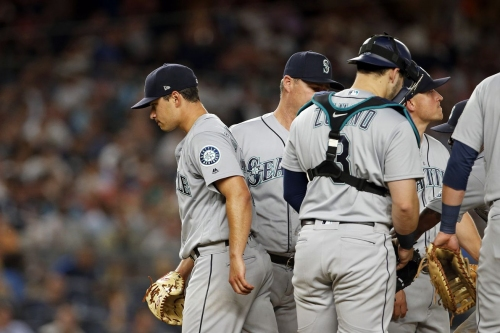 Mariners drown in Yankee dingers, lose 7-2