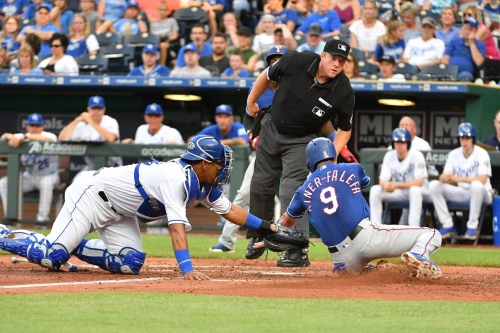 31-44 - Kiner-Falefa takes advantage as Rangers beat Royals 4-1