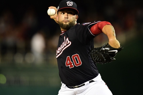 New Nationals' reliever Kelvin Herrera introduced to Washington, D.C.