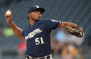 Brewers nip Pirates 3-2