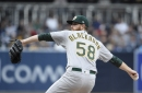 Piscotty, Lowrie bust out for late comeback win vs Padres in extras