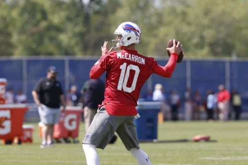 Will Tyrod Taylor or AJ McCarron have a better 2018?