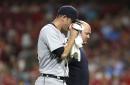 Drew VerHagen broke his nose, is now on the DL