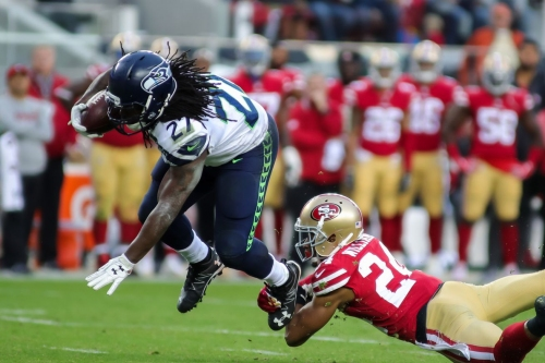 Eddie Lacy among 2017 Seahawks players still without a team