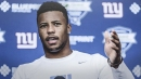 Giants rookie Saquon Barkley owns best-selling jersey in NFL