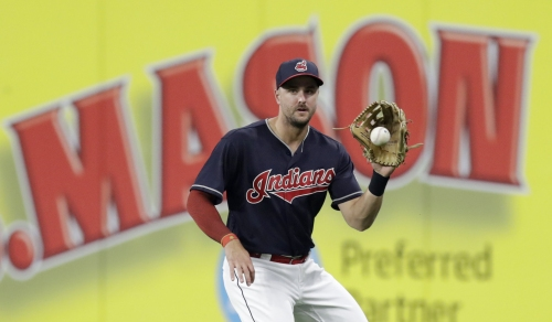 Lonnie Chisenhall scratched from Cleveland Indians lineup Wednesday with two sore calf muscles