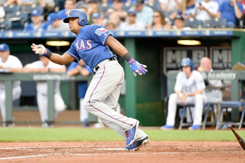 Wednesday Texas Rangers lineup: Odor, Gallo back, DeShields sits