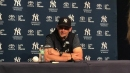 Yankees' manager Aaron Boone talks about Brett Gardner's status in the lineup