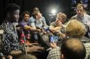 Arizona Wildcats star Deandre Ayton (and his shark shirt) all smiles as NBA Draft nears
