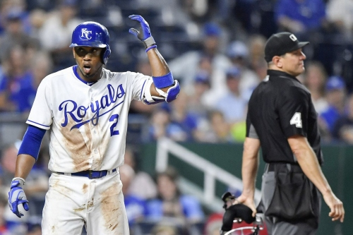 Late Moustakas homer not enough to overcome Rangers; Royals lose 3-2