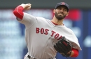 Rick Porcello retires 16 straight, allows 1 hit in Boston Red Sox win; Mookie Betts, Andrew Benintendi homer