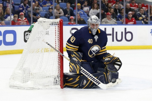 REPORT: Sabres won't qualify Robin Lehner