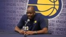 Pacers coach Nate McMillan on Aaron Holiday