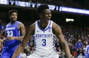 Nets select Hamidou Diallo on behalf of Hornets with the 45th pick